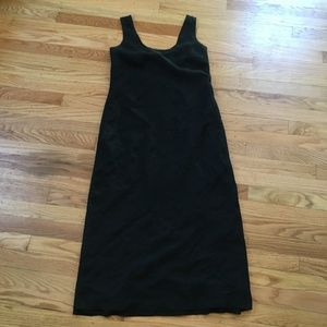 Banana Republic 100% Linen Black Shift Dress 4